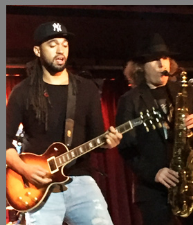 Boney James, Kendall Gilder at B.B. Kings NYC - photo by Luxury Experience