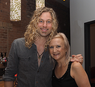 Casey James and Debra C. Argen - photo by Luxury Experience