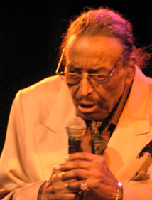 Chico Hamilton at Revelation CD release and 90th Birthday Party - DROM NYC - Photo by Luxury Experience
