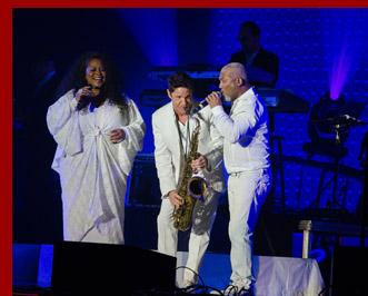 Maysa, Dave Koz, Jonathan Butler - Dave Koz & Friends Christmas Tour 2014