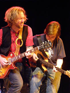 Devon Allman and Bobby Plaltauf - © Photo by Luxury Experience