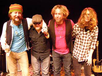 Pedro Arevalo, Anthony Nanney, Devon Allman, Bobby Schneck, Jr. - © Photo by Luxury Experience