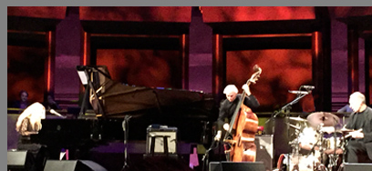 Eliane Elias, Marc Johnson, Joe LaBarbera - photo by Luxury Experience