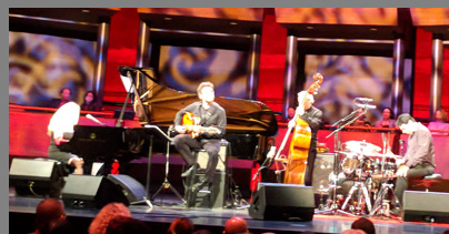 Eliane Elias, Rubens de La Corte, Marc Johnson, Rafael Barata - photo by Luxury Experience