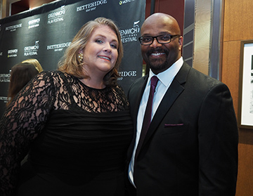 Becky Walker and Bobby Walker Jr. GIFF 2019 Gala - photo by Luxury Experience