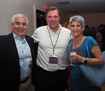 Edward F. Nesta, Brian Lors, Charlene Giannetti - GIFF 2019 - photo by Luxury Experience