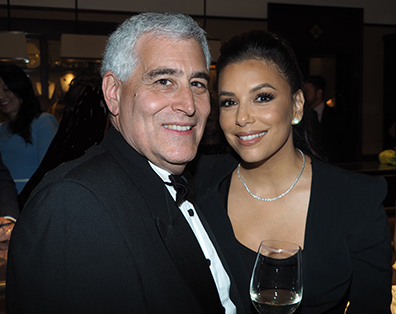 Eva Longoria Bolton, Edward F. Nesta - GIFF 2019 Gala - photo by Luxury Experience