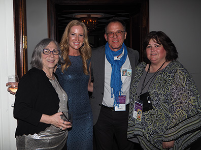 Joyce Kleinman, Colleen deVeer, Paul Nethercott, Amy Pauszek - GIFF 2019 Director's Party - photo by Luxury Experience