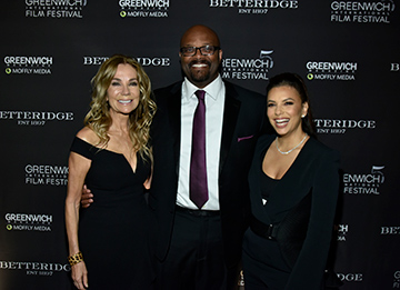 Kathie Lee Gifford, Bobby Walker Jr., Eva Longoria Baston - Changermakers GIFF 2019 - photo by Luxury Experience