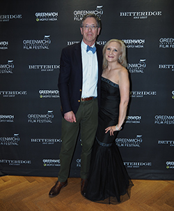 Terry Betteridge, Debra C. Argen - GIFF 2019 Gala - photo by Luxury Experience