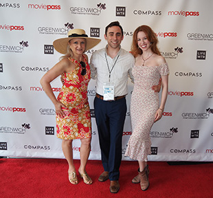Debra C. Argen, Kevin Sebastian, Elisabeth Ness - GIFF 2018 - photo by Luxury Experience