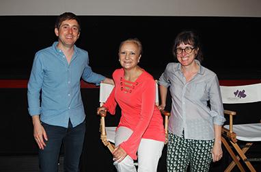 Director Cameron Yates, Debra C. Argen, Laura Coxson - GIFF 2018 - photo by Luxury Experience