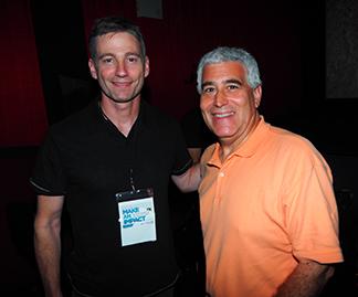 Director Josh Lowell, Edward F. Nesta - DAWN WALL - GIFF 2018 - photo by Luxury Experience