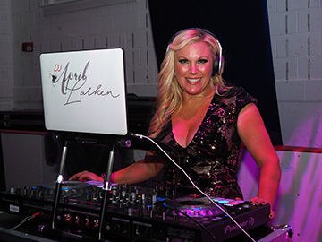 DJ April Larken - GIFF 2018 - photo by Luxury Experience