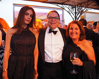 Gabriella Dias, Mark Lindsay, Donna Lindsay - GIFF 2018 - photo by Luxury Experience