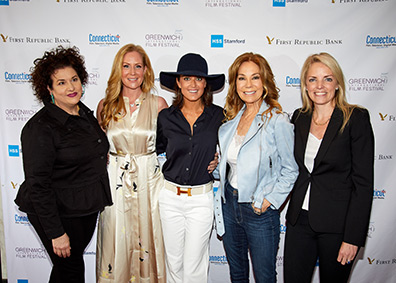 Adrianna Trigani, Collen deVeer, Wendy Stapleton, Kathie Lee Gifford, Ginger Stickel - GIFF 2019 - photo by Luxury Experience