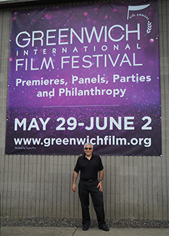 Edward F. Nesta - Greenwich Internatinal Film Festival 2019 - photo by Luxury Experience