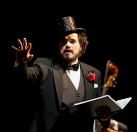 Justin Sayre - The Soldier's Tale - Greenwich Music Festival - Photo by Joanne Bouknight
