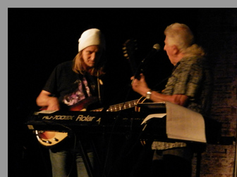 Greg Rzab and John Mayall at City Winery, NYC - Photo by Luxury Experience