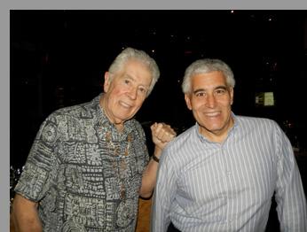 John Mayall and Edward Nesta at City Winery, NYC - Photo by Luxury Experience