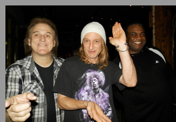 Rocky Athas, Greg Rzab, and Jay Davenport  at City Winery, NYC - Photo by Luxury Experience