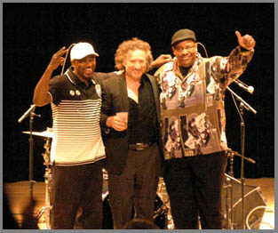 Conell Williams, Jon Cleary, Raymond Weber - photo by Luxury Experience