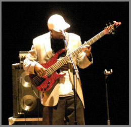 Cornell Williams on bass - photo by Luxury Experience