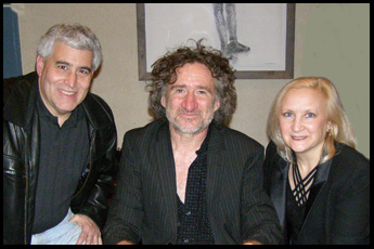 Edward Nesta, Jon Cleary, Debra Argen - photo by Luxury Experience