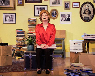 Amy Griffin - Becoming Dr. Ruth - Music Theatre of Connecticut - Norwalk, CT, USA - photo by Alex Mongillo