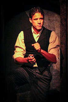 Christian Cardozo - Ragtime - Music Theatre of Connecticut - Norwalk, CT - photo courtesy of Joe Lundry