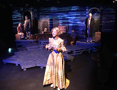 Juliet Lambert Pratt and Cast - Ragtime - Music Theatre of Connecticut - Norwalk, CT - photo courtesy of Joe Lundry