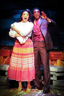Soara-Joye Ross, Ezekiel Andrew - Ragtime - Music Theatre of Connecticut - Norwalk, CT - photo courtesy of Joe Lundry