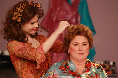 Music THeatre of Connecticut - Steel Magnolias - Rachel Rival, Cynthia Hannah - photo by Heather Hayes