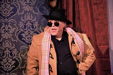 Jeff Gurner - TRU - Music Theatre of Connecticut - photo by Alex Mongillo