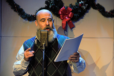 Jeff Grurner - It's A Wonderful Life - A Live Radio Play - Music Theatre of Connecticut - photo by Alex Mongillo