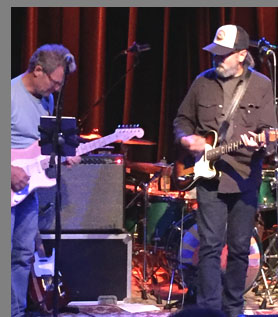Rob Wilson and Michael Falzarano - New Riders of the Purple Sage - photo by Luxury Experience