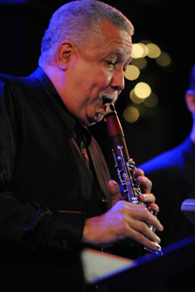 Paquito D'Rivera performing - Photo by Frank Stewart