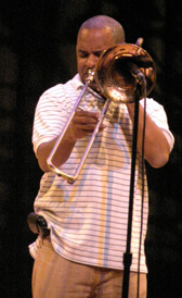 Stafford Agee - Rebirth Brass Band - Photo by Luxury Experiene