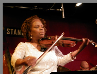 Regina Carter at Jazz Standard, NYC - photo by Luxury Experience