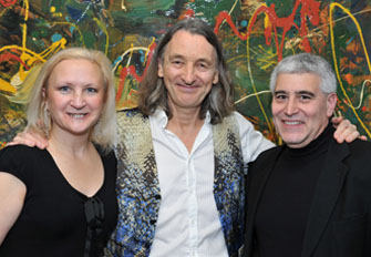 Debra Argen, Roger Hodgson, and Edward Nesta - Photo by Jeff Butchen