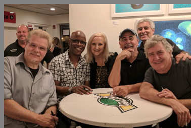Spyro Gyra, Debra C. Argen and Edward F. Nesta - photo by Luxury Experience
