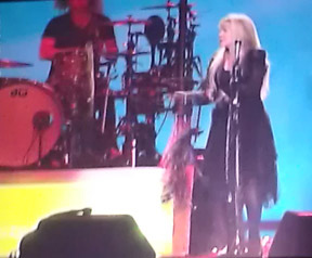 Stevie Nicks on stage at Mohegan Sun - Photo by Luxury Experience