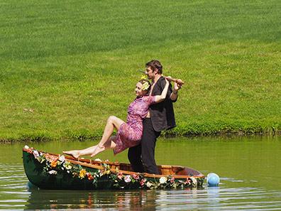 Pilobolus, BLOOM: A Journey - The Ferryman - Photo by Luxury Experience