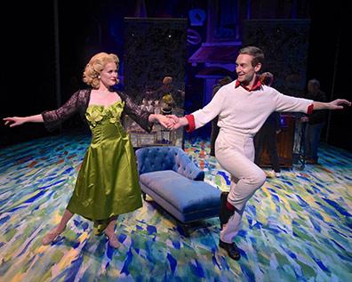 Westchester Broadway Theatre - An American in Paris - Lauren Sprague, Brandon Haagenson - photo by John Vecchiolla