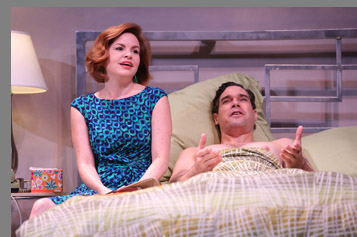 Westport Country Playhouse -  Nicole Lawrence and Matthew Greer - Bedroom Farce