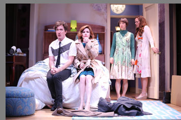Westport Country Playhouse - Carson Elrod, Sarah Manton, Nicole Lawrence, Claire Karpen  - Bedroom Farce