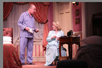 Westport Country Playhouse - Cecilia Hart and Paxton Whitehead - Bedroom Farce