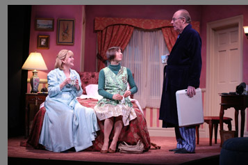 Westport Country Playhouse -  Cecilia Hart, Sarah Manton,Paxton Whitehead  - Bedroom Farce