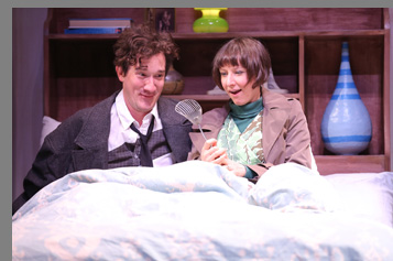 Westport Country Playhouse -  Carson Elrod and Sarah Manton - Bedroom Farce