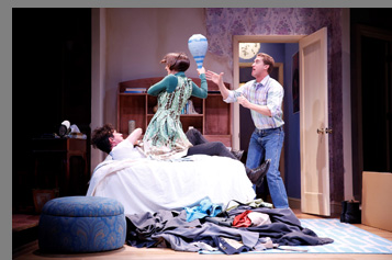 Westport Country Playhouse -  Scott Drummond, Carson Elrod, Sarah Manton  - Bedroom Farce